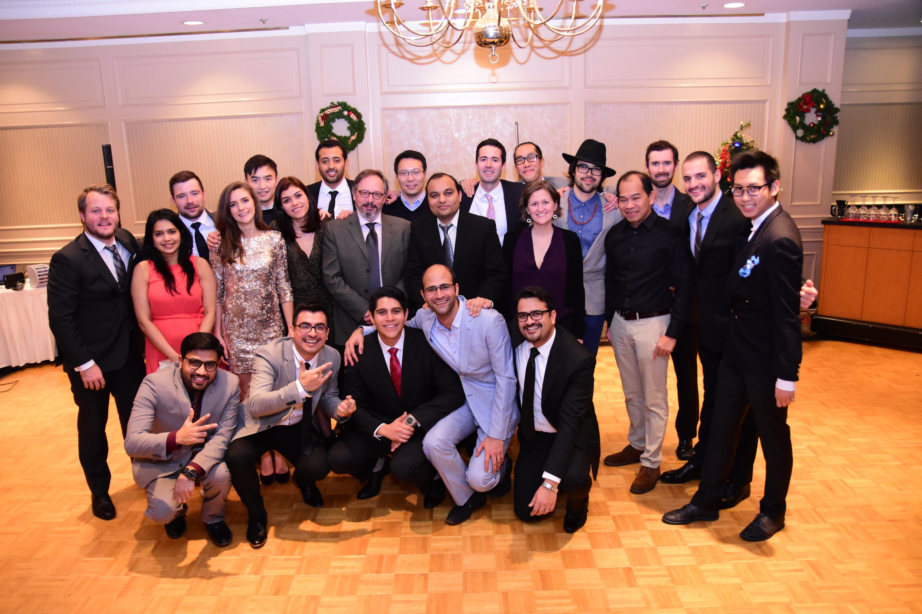 MEL and MHLP Graduation Gala: MEL in Clean Energy Engineering Graduates with Program Co-Director Dr. Vladan Prodanovic