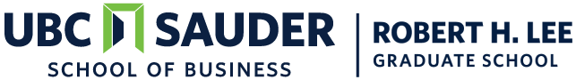 UBC Sauder School of Business Logo
