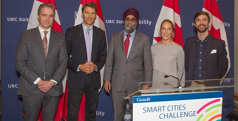 UBC MEL Honourable Harjit Sajjan launches Vancouver's Smart Cities Challenge